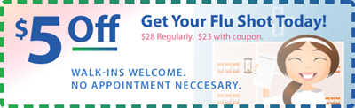 Cascade Custom Pharmacy Flu Shot Coupon