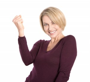Happy women who know has knowledge about Bioidentical hormone replacement therapy